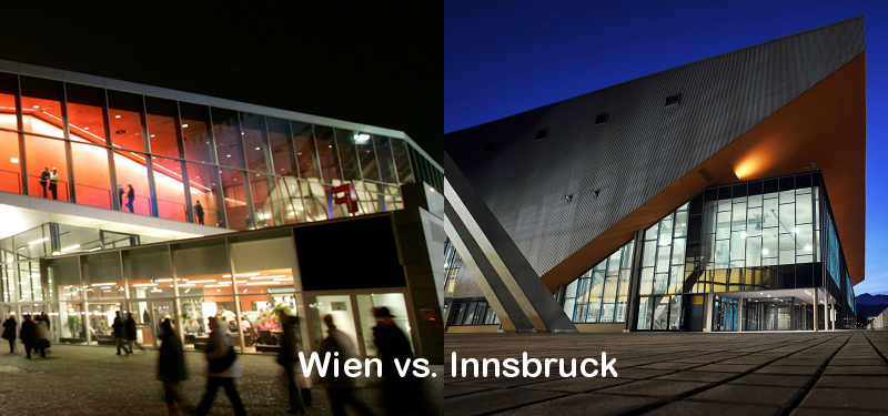 Wien oder Innsbruck?
