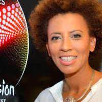 Arabella Kiesbauer ist Moderatorin am Eurovision Song Contest 2015
