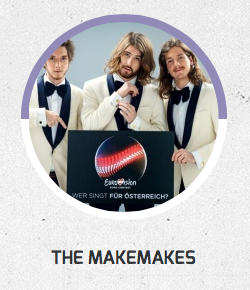 The Makemakes Eurovision in Concert 2015