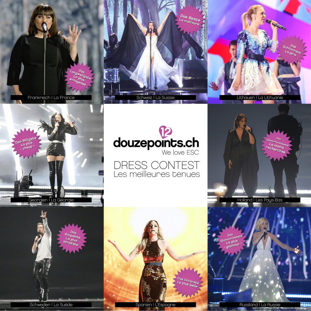 Eurovision Dress Contest 2015