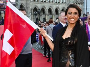 Mélanie René 1er août Eurovision Song Contest Suisse