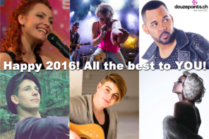 Eurovision Song Contest Schweiz Suisse Switzerland New Year 2016