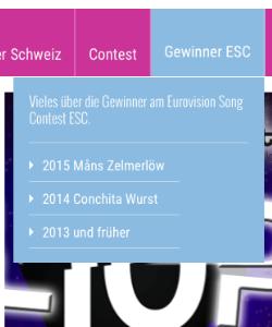 douzepoints.ch Gewinner ESC