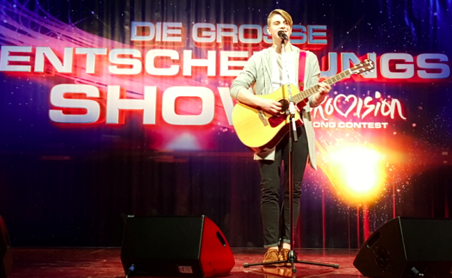 Vincent Gross Experten-Check Eurovision Song Contest 2016 Half A Smile