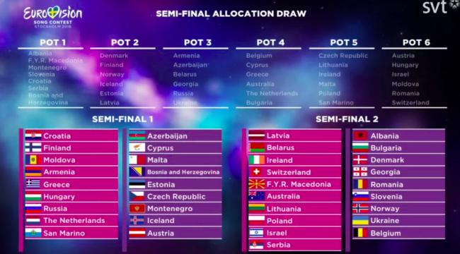 Schweiz Eurovision Song Contest  Semi Final