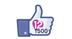 douzepoints.ch Eurovision Song Contest Switzerland Facebook 1500 Fans
