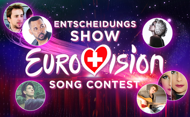 Cover-Songs Entscheidungsshow Eurovision Song Contest 2016