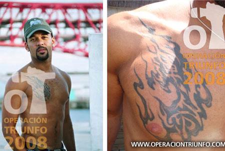 Tattoo Stanley Miller Eurovision Song Contest Switzerland