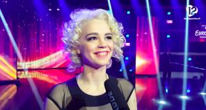 Rykka Winner Entscheidungsshow Interview Eurovision Song Contest 2016