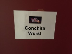 Garderobe Conchita Wurst