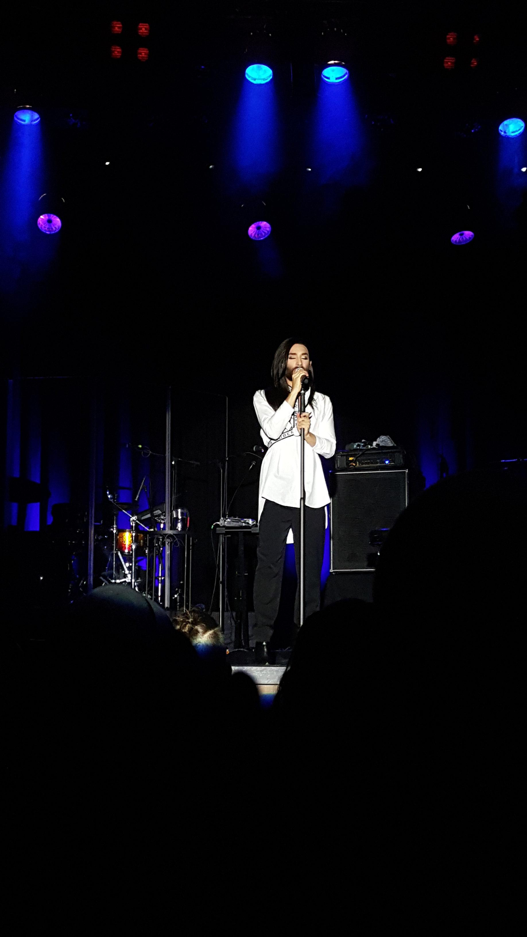 Conchita Wurst Konzert Zürich