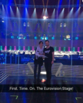 First rehearsals on stage at the Eurovision Song Contest 2016