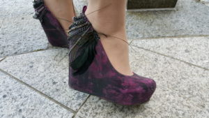 Her amazing shoes