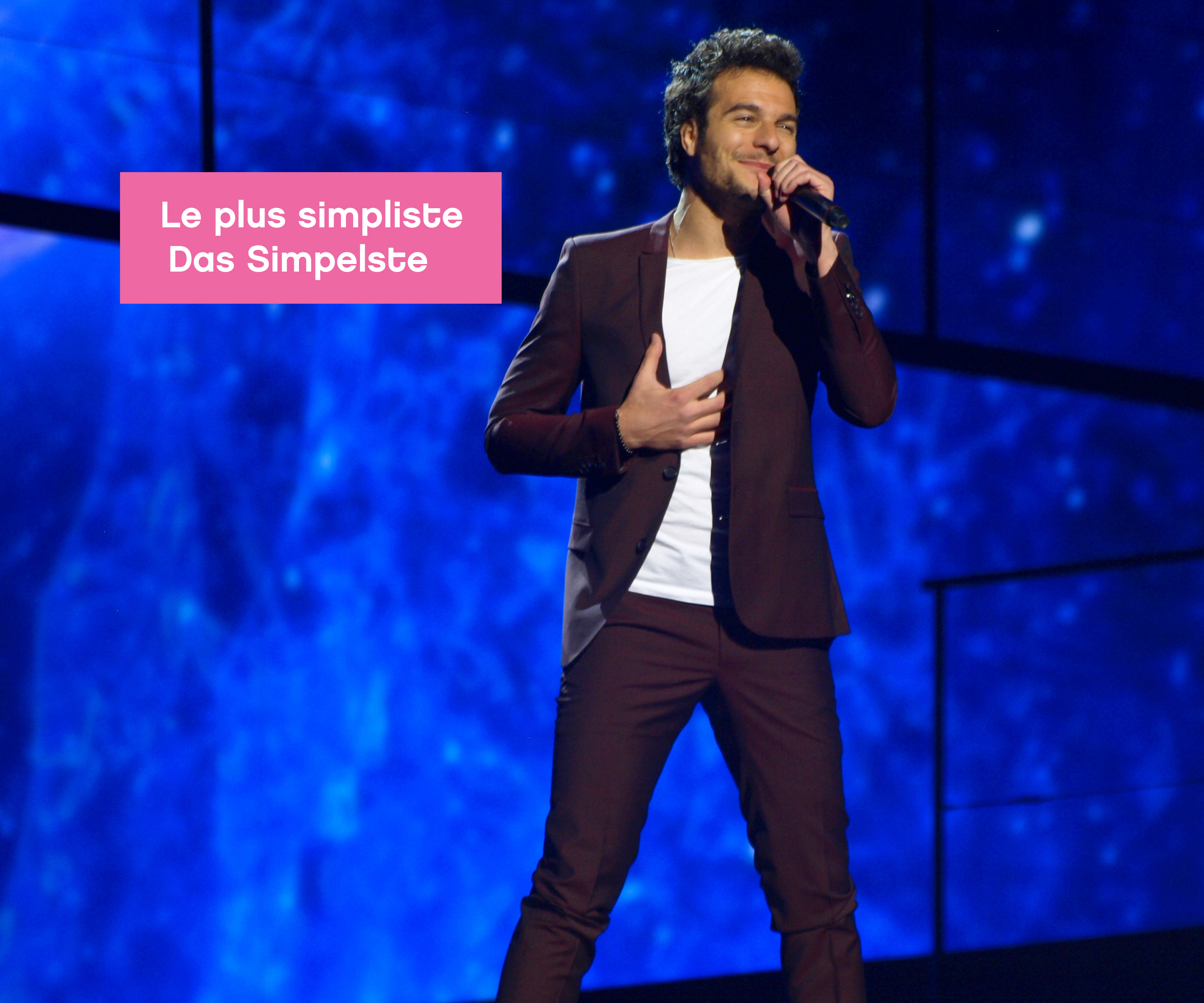 Eurovision Dress Contest 2016 Amir France