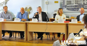 Jon Ola Sand (centre), Executive Supervisor of the Eurovision Song Contest at the meeting in Kyiv. Jon Ola Sand (centre), Executive Supervisor of the Eurovision Song Contest at the meeting in Kyiv. NTU