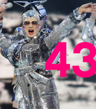 Eurovision Song Contest 2017 Kiew Ukraine 43 nations