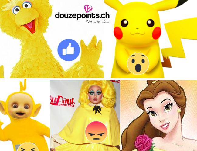 yellow dress Miruna Timebelle Apollo Switzerland Eurovision Song Contest 2017