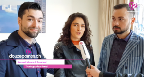 Interview Timebelle day after non qualifying in semi-final 1