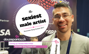 sexiest male artist eurovision 2017