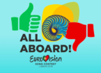 All Aboard Artwork Eurovision Song Contest 2018 Lissabon