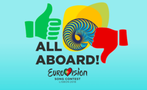 All Aboard Artwork Eurovision Song Contest 2018 Lissabon