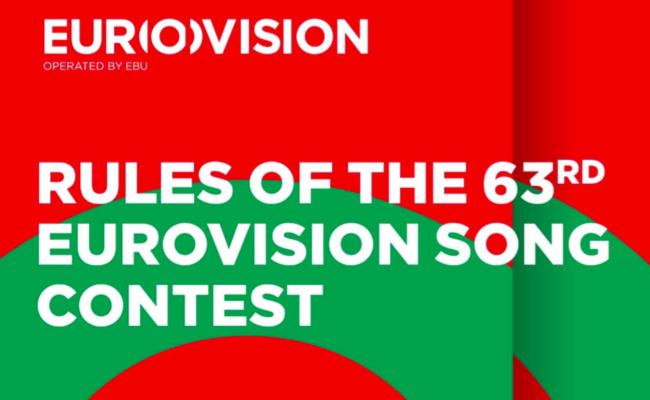 Regeln Roules Eurovision Song Contest 2018 Lissabon Lisbon