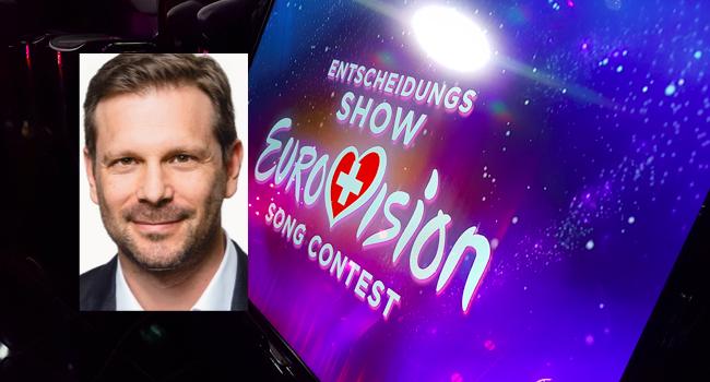 Reto Peritz Head of Delegation Switzerland Entscheidungsshow Eurovision Song Contest SRF Eurovision Schweiz
