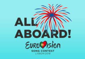 Happy New Year Eurovision Song Contest 2018 lisbon all aboard