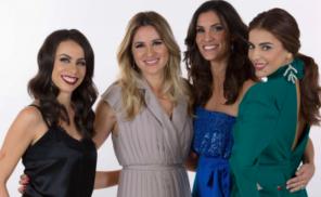 Filomena Cautela,Sílvia Alberto, Daniela Ruah, Catarina Furtado, Hosts Eurovision Song Contest 2018 Lisbon