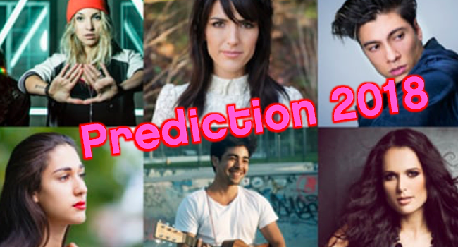 Eurovision Song Contest 2018 SRF Entscheidungsshow Switzerland Schweiz Suisse prediction