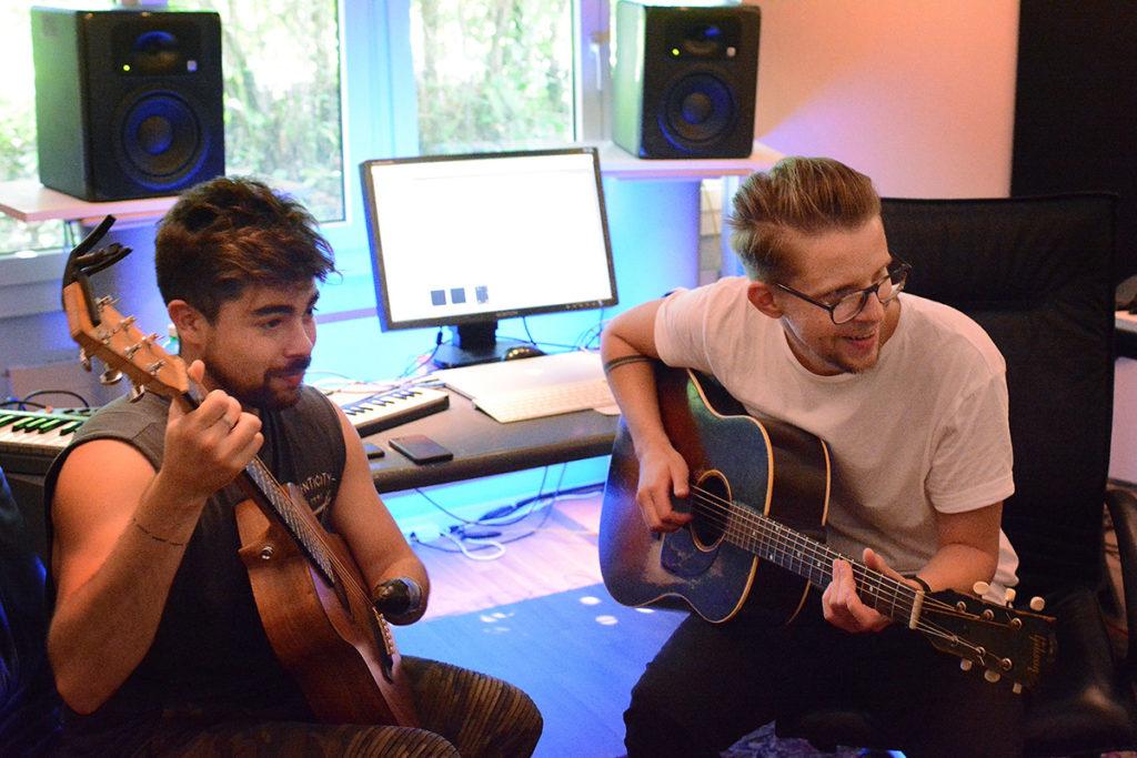 Songwriting-Camp Eurovision 2018 Pele Loriano SUISA Alejandro Reyes