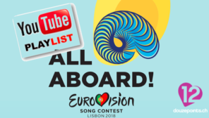 Eurovision Song Contest 2018 Lisbon Playlist YouTube