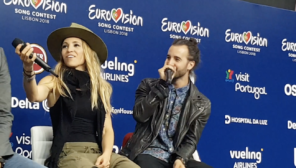 ZIBBZ Stones Eurovision Song Contest 2018 press meet greet