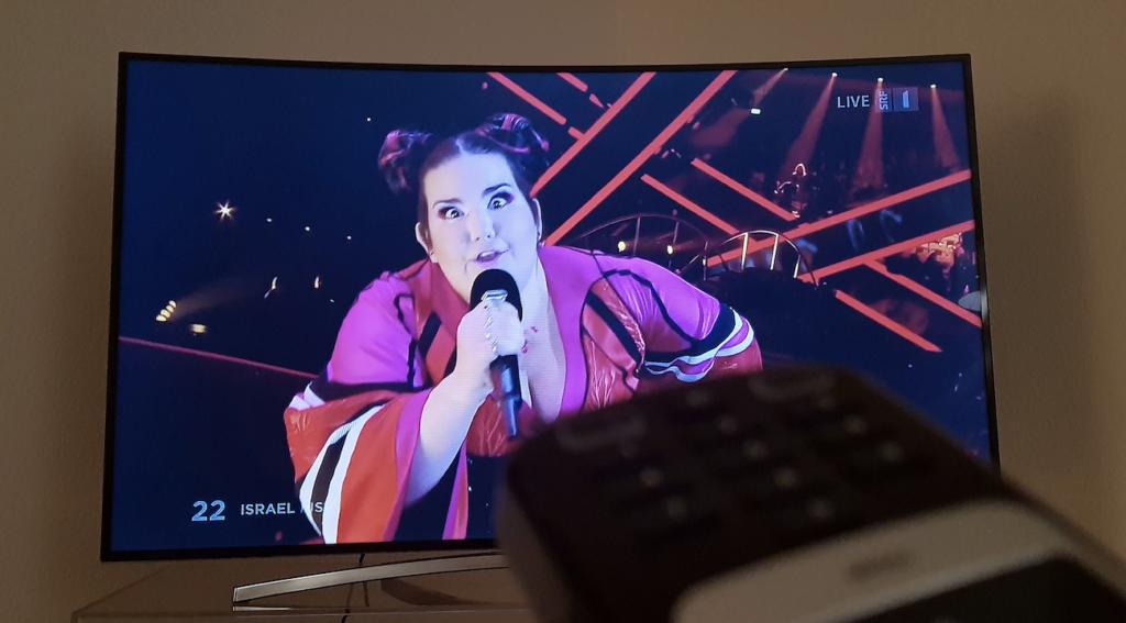 Einschaltquoten Zuschauerzahlen Eurovision Song Contest 2018 Netta Israel Toy