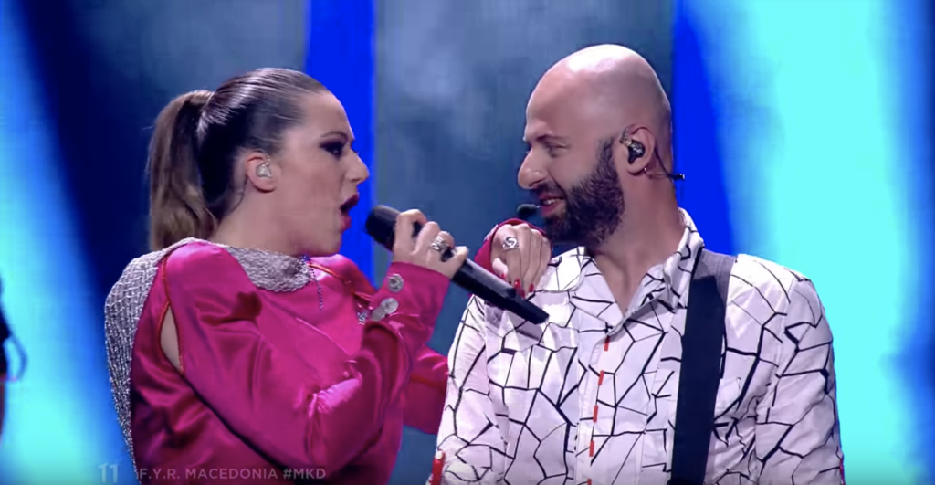 FYR Macedonia Eye Cue Eurovision Song Contest 2018 Barbara Dex Award 2018