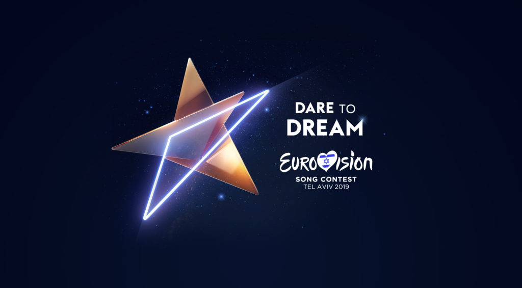 Artwork Logo Eurovision Song Contest 2019 Tel Aviv Israel Dare To Dream KAN