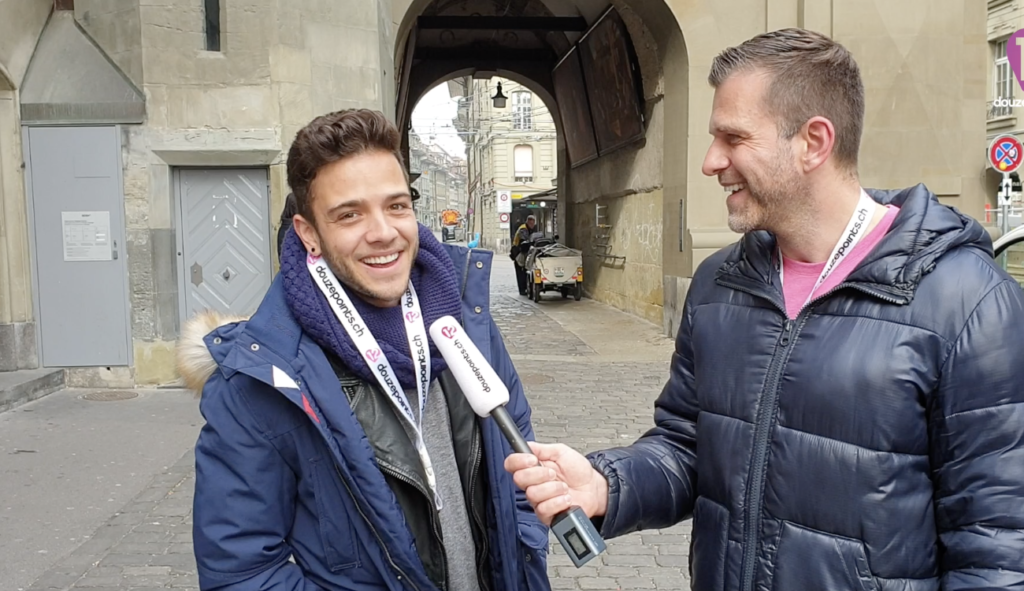 Luca Hänni Interview Eurovision Song Contest 2019 Tel Aviv