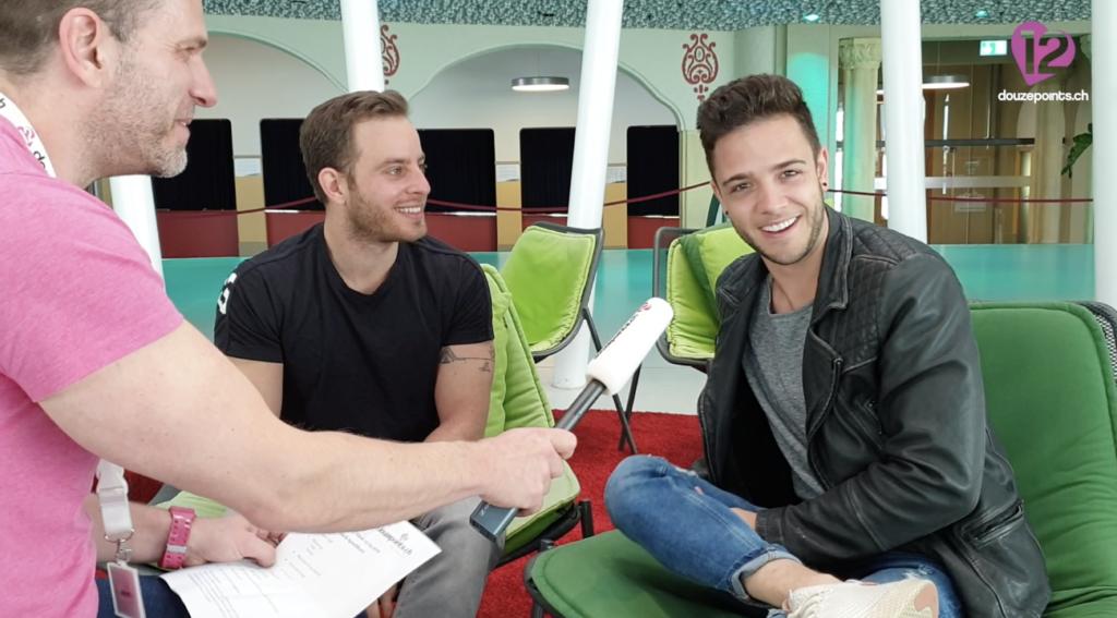 Luca Hänni Hebrew Tel Aviv Eurovision Song Contest 2019