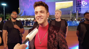 Luca Hänni Opening Ceremony Orange Carpet Eurovision 2019 Switzerland