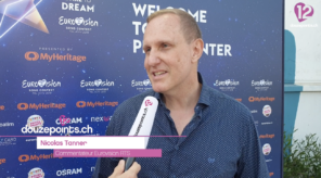 Nicolas Tanner RTS Eurovision Song Contest 2019 Tel Aviv