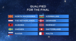 Qualifiers 2nd semi-final 16th may 2019 eurovision song contest 2019