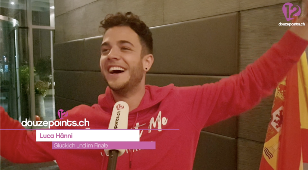 Luca Hänni Qualifikation Finale Eurovision Song Contest 2019 Tel Aviv