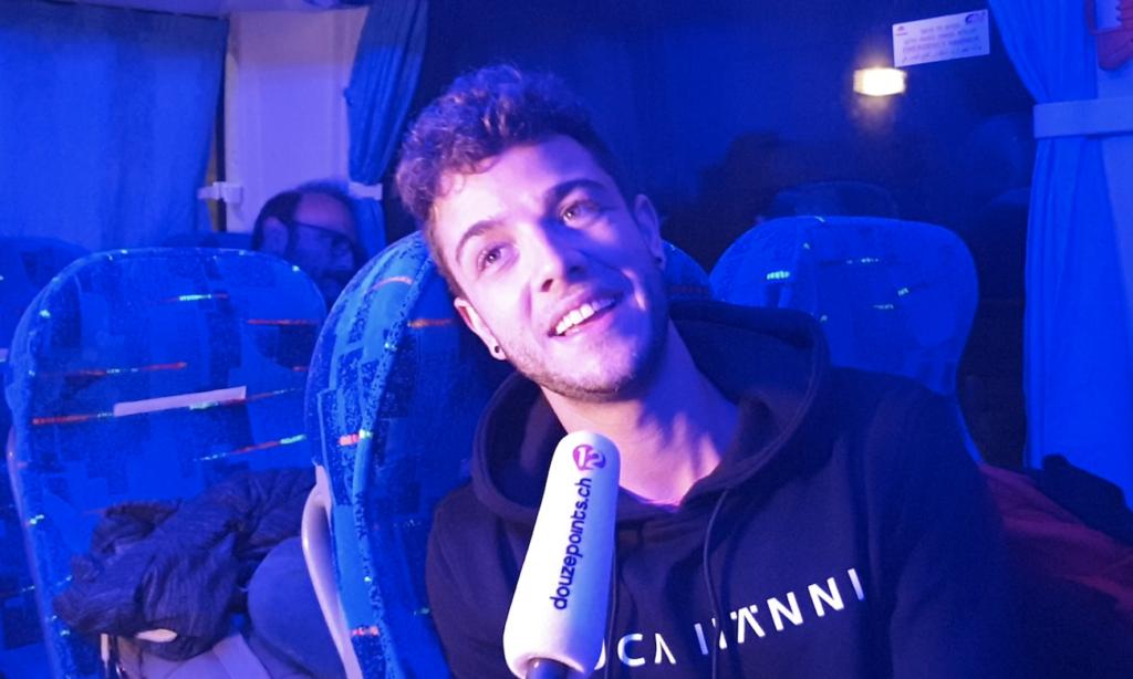 Luca Hänni Interview nach dem Finale Eurovision Song Contest 2019 Tel Aviv