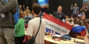 Press center winner Duncan Laurence Netherlands Eurovision Song Contest 2019 Tel Aviv