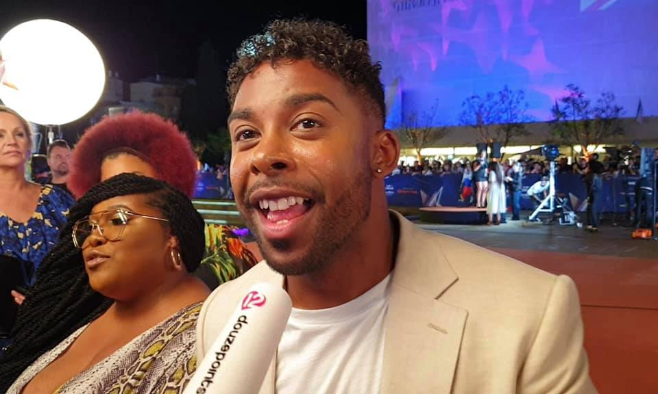 John Lundvik Opening Ceremony Orange Carpet Eurovision 2019 Sweden