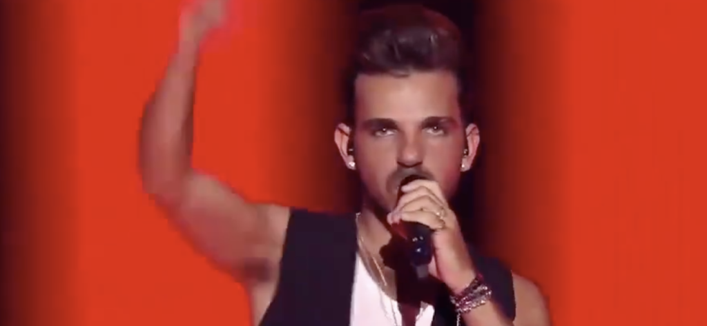 Luca Hänni She Got Me Switzerland Eurovision Stand-in Rehearsals