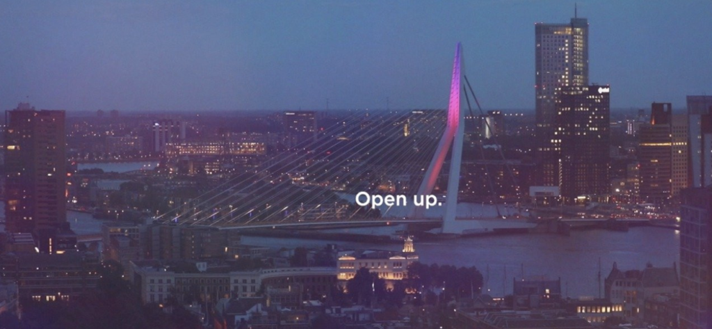 Eurovision Song Contest 2020 Rotterdam Open up Slogan Motto