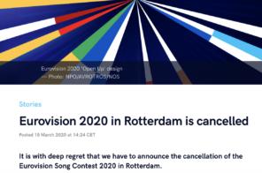 Eurovision Song Contest shutdown corona