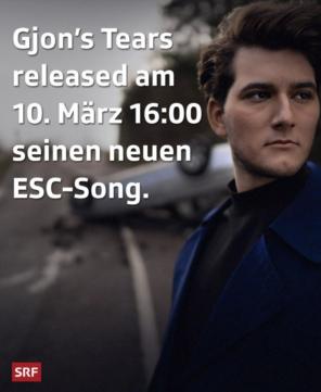 Gjon's Tears Ground Zero Eurovision Song Contest 2021 Switzerland