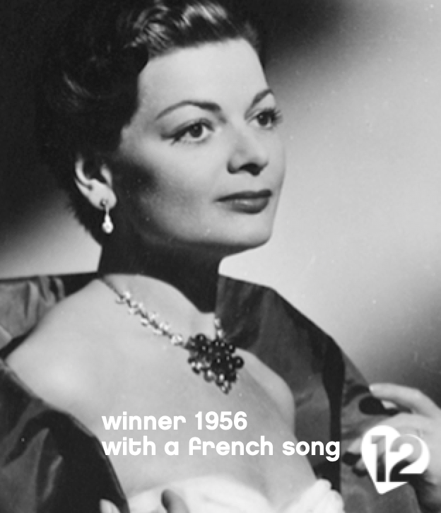 Lys Assia Refrain Eurovision Song Contest 1956